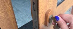 New Malden locks change